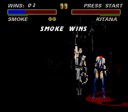 Ultimate Mortal Kombat 3 - human Smoke is awesome ^^ - User Screenshot